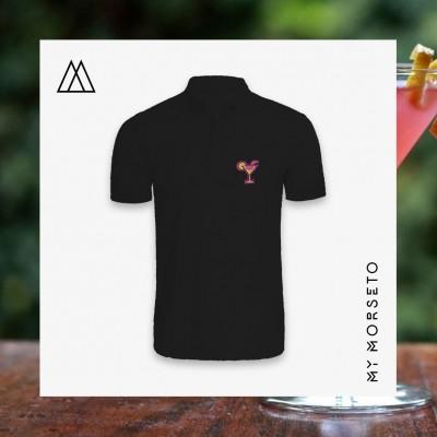 Ανδρικό Μπλουζακι Polo Cocktail Μαύρο