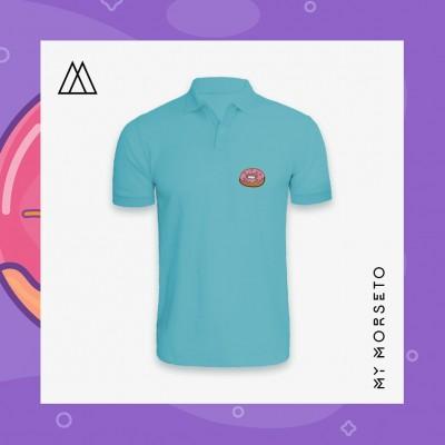 Ανδρικό Μπλουζακι Polo Donuts Γαλάζιο