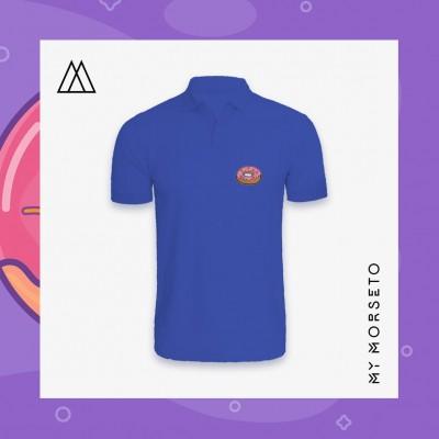 Ανδρικό Μπλουζακι Polo Donuts Μπλε