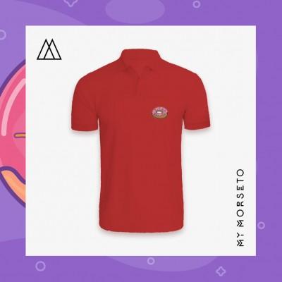Ανδρικό Μπλουζακι Polo Donuts Κόκκινο