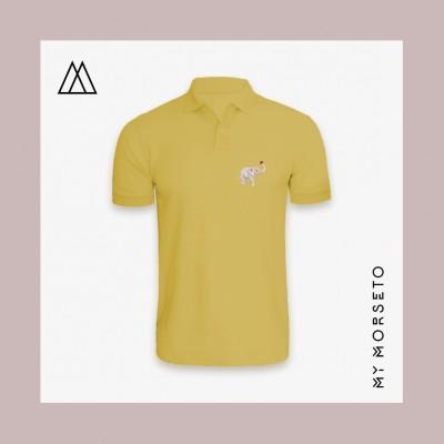 Ανδρικό Μπλουζακι Polo Elephant Κίτρινο