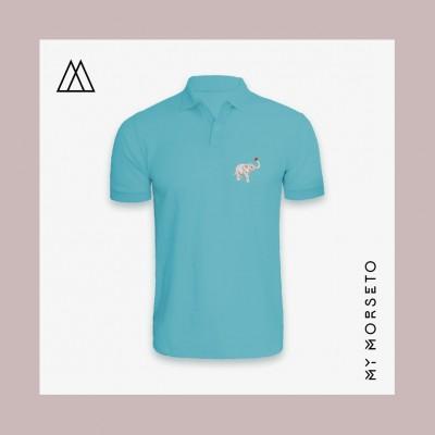 Ανδρικό Μπλουζακι Polo Elephant Γαλάζιο