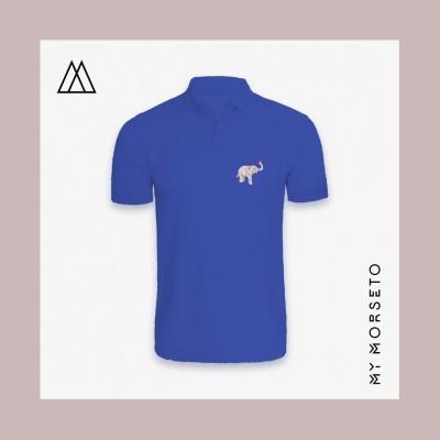 Ανδρικό Μπλουζακι Polo Elephant Μπλε