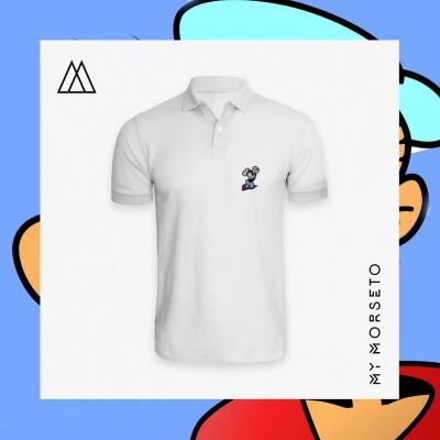 Ανδρικό Μπλουζακι Polo Popeye Ασπρο