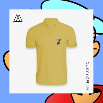 Ανδρικό Μπλουζακι Polo Popeye Κίτρινο