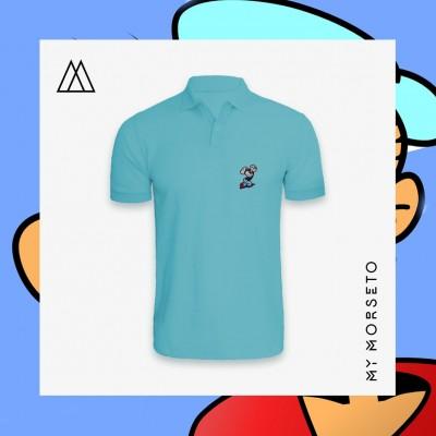 Ανδρικό Μπλουζακι Polo Popeye Γαλάζιο