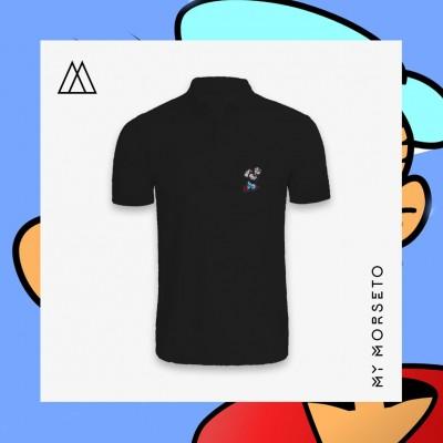 Ανδρικό Μπλουζακι Polo Popeye Μαύρο