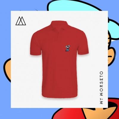 Ανδρικό Μπλουζακι Polo Popeye Κόκκινο
