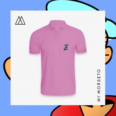 Ανδρικό Μπλουζακι Polo Popeye Ροζ