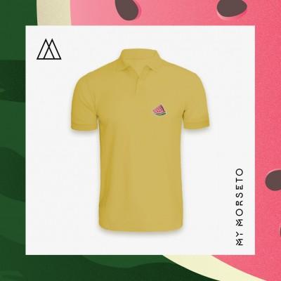 Ανδρικό Μπλουζακι Polo Watermelon Κίτρινο