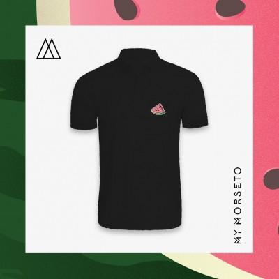 Ανδρικό Μπλουζακι Polo Watermelon Μαύρο
