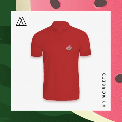 Ανδρικό Μπλουζακι Polo Watermelon Κόκκινο