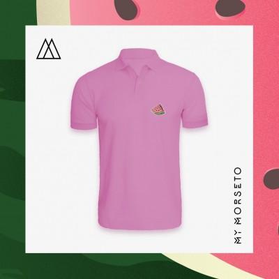 Ανδρικό Μπλουζακι Polo Watermelon Ροζ
