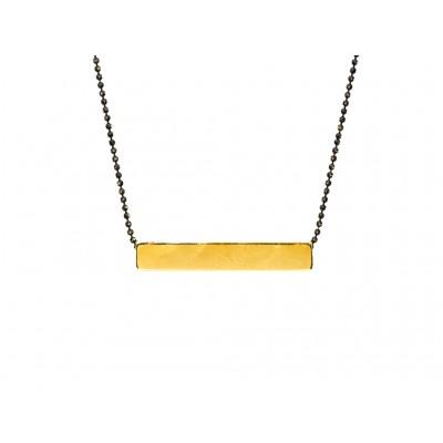 Κρεμαστό μεταλλικό Παραλληλόγραμμο σε Χρυσό χρώμα