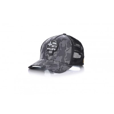 Καπέλο Jockey Army Dark Grey Skull Flag