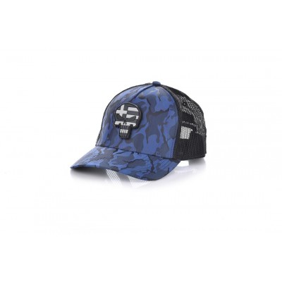 Καπέλο Jockey Army Blue Skull  Black Flag