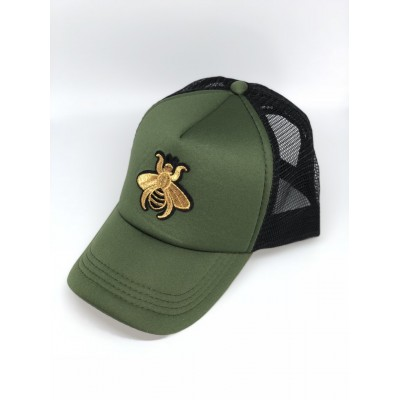 Καπέλο Jockey Khaki Bee