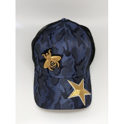 Καπέλο Jockey Army Blue Bee Star