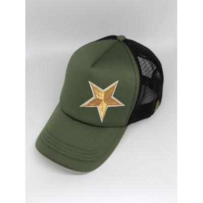 Καπέλο Jockey Green Star