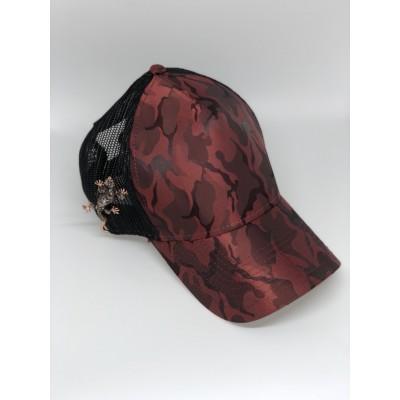 Καπέλο Jockey Army Red Lizard