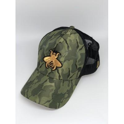 Καπέλο Jockey Army Green Bee