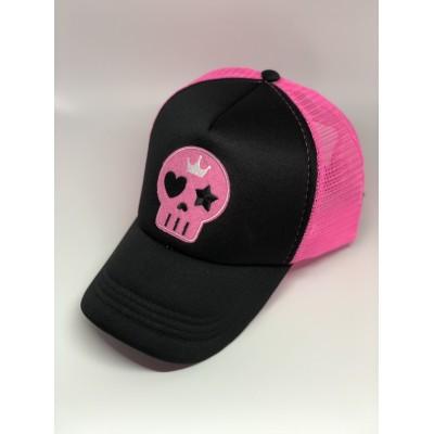 Καπέλο Jockey Pink Skull