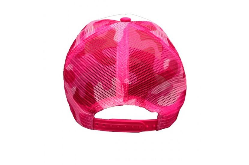 Καπέλο Jockey Camo Pink