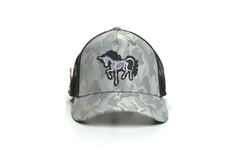Καπέλο Jockey Army Light Grey Horse