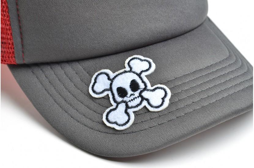 Καπέλο Jockey The ''X'' Grey Red