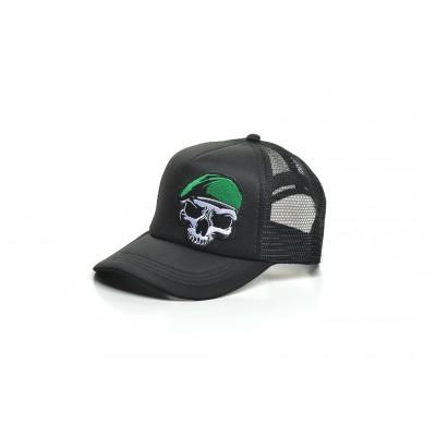 Καπέλο Jockey Skull Beret Black