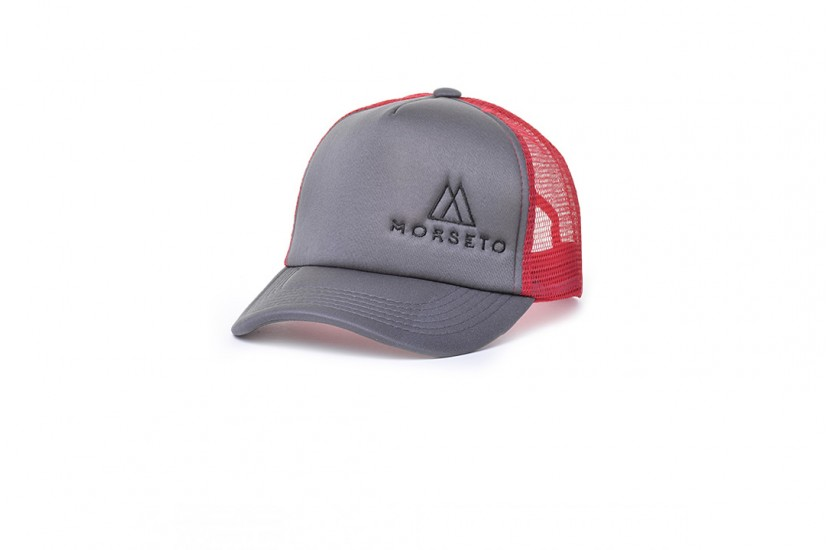 Καπέλο Jockey Bubble Red Grey
