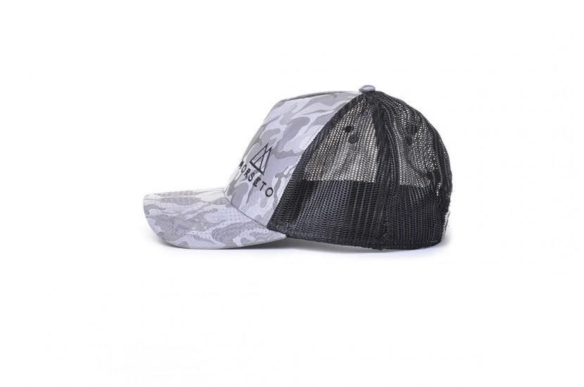 Καπέλο Jockey Rapper Camou Grigio Chiaro