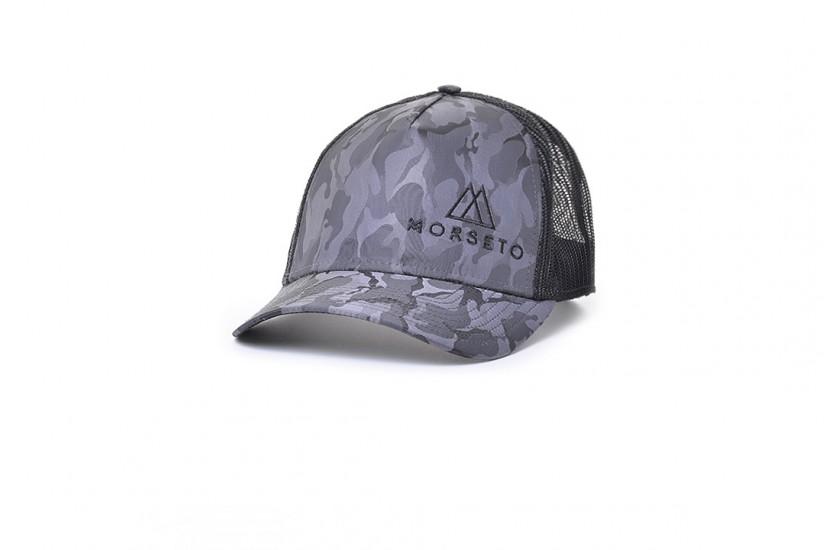 Καπέλο Jockey Rapper Camou Grigio Scuro