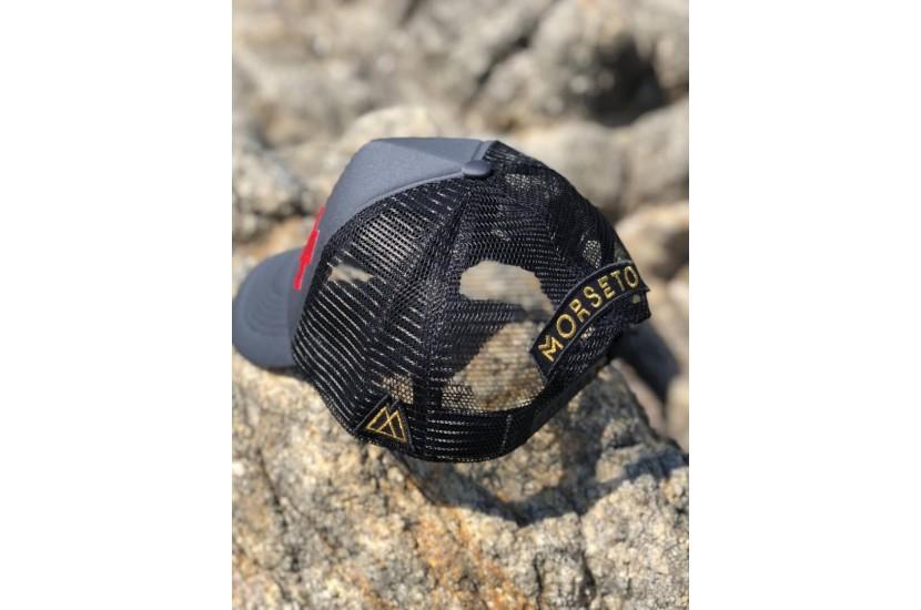 Καπέλο Jockey The ''XXX'' Grey Black