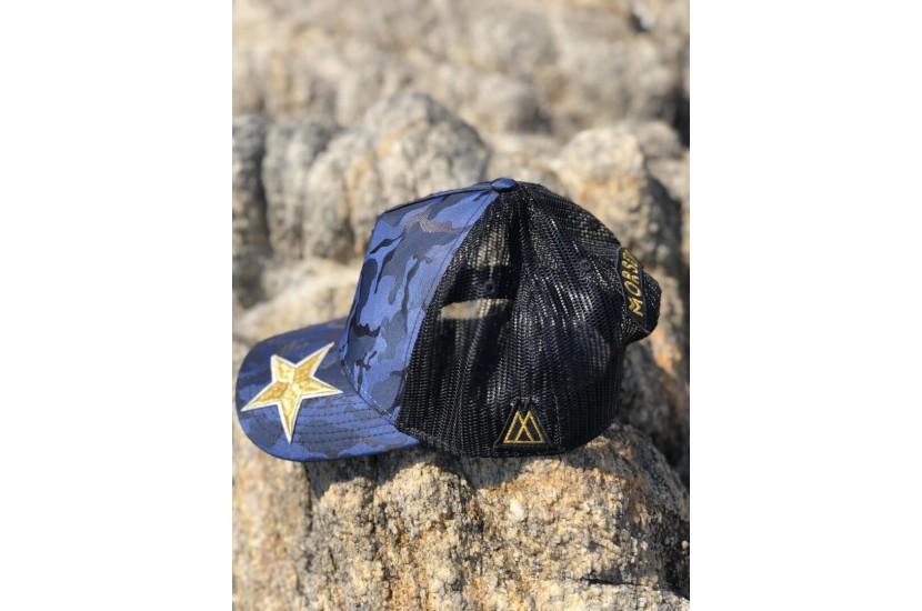 Καπέλο Jockey Army Blue Bee Star