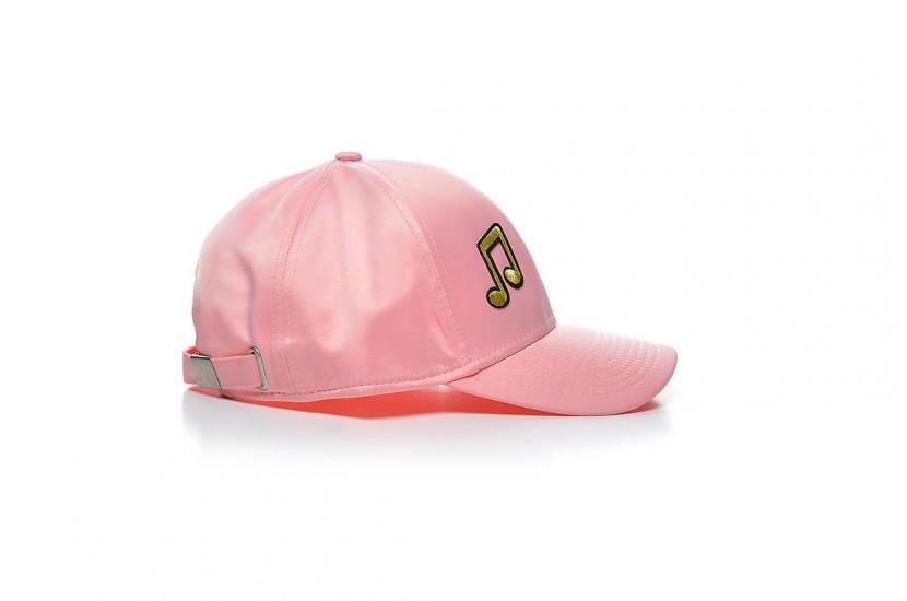 Καπέλο Jockey Pink Golden Music Note