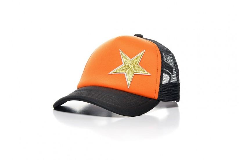 Καπέλο Jockey Orange Golden Star