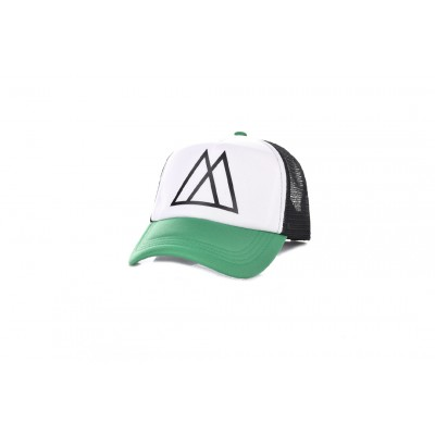 Καπέλο Jockey Big Mors White Green