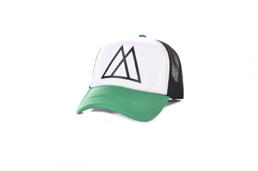 Καπέλο Jockey Big Mors White Green
