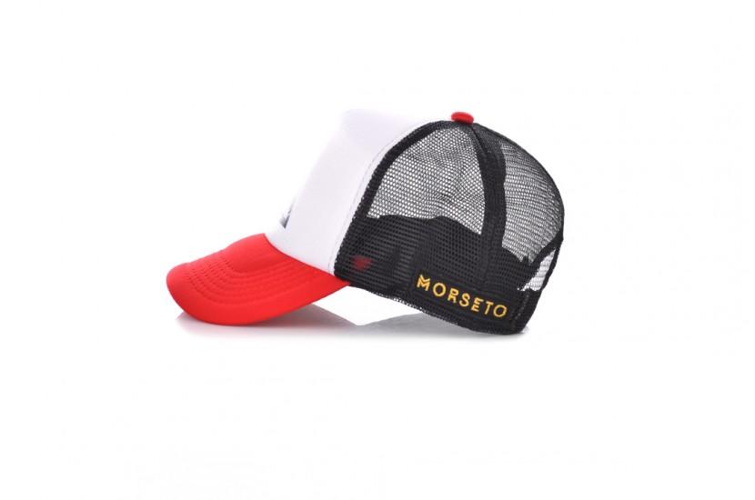 Καπέλο Jockey Big Mors White Red