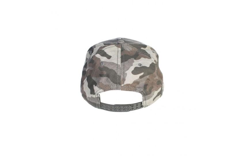 Καπέλο Snapback Deck Camouflage /Grey