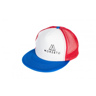 Καπέλο Snapback 80's White / Red / Royal