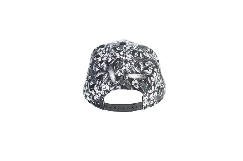 Καπέλο Snapback Fantasy Black Flower