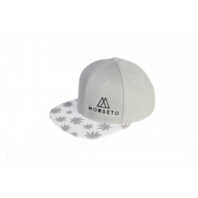 Καπέλο Snapback White Leaves