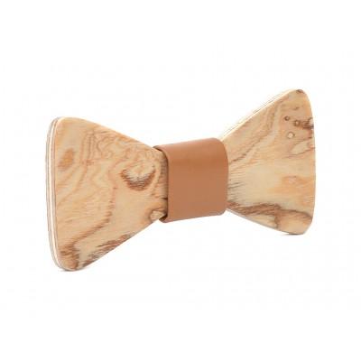 Ξύλινο Παπιγιόν Natural Hercules -Brown