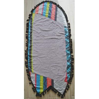 Πετσέτα Θαλάσσης ALOHA σχήμα Surf - Grey