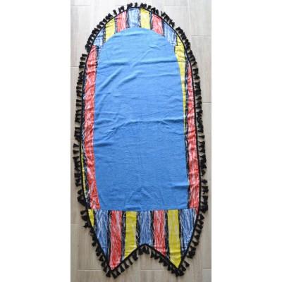 Πετσέτα Θαλάσσης ALOHA σχήμα Surf  - Blue 1