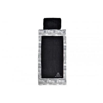 Πετσέτα Θαλάσσης MORSETO Luxury - Black Triangle & Σάκος παραλίας 2in1