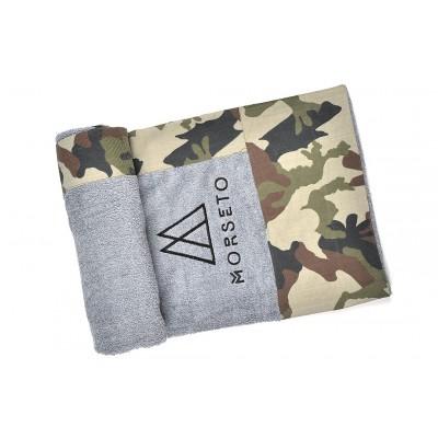 Πετσέτα Θαλάσσης MORSETO Luxury - Grey Army