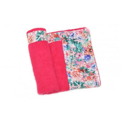 Πετσέτα Θαλάσσης MORSETO Luxury -Pink Floral